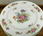 Set Of 2 Aladdin Dresdenia Dinner Plates Made In Occupied Japan Fine China 10