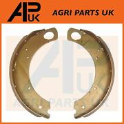 Brake Shoes + Linings 1 Side For Ford 2000 2600 2610 3000 3600 3610 4110 Tractor