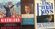 Richard Nixon Book Lot Personal Portrait Rise Of A President And Final Days