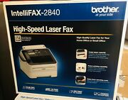 Band New Brother Intellifax Fax-2840 High Speed Mono Laser Fax Machine