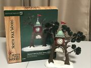 Dept 56 North Pole Woods Welcome To North Pole Woods Gateway Entrance