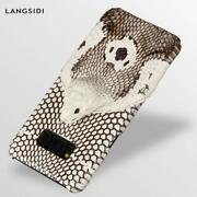 Genuine Leather Snakeskin Case For Samsung Galaxy S10 S8 S9 Plus S20 All Devices