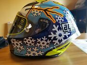 Valentino Rossi Hand Signed Full Size Limited Edition K4 Jsa Certified Helmet.