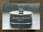 Bowers And Wilkins Zeppelin Mini Black Speaker + Remote For Ipods And Older Iphone