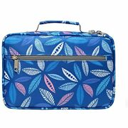 Bible Cover Case Carrier Carrying Bag With Handles For Women Ladies Teens Floral