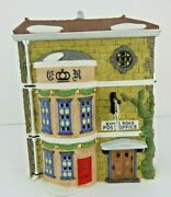 Dept 56 Dickens Village King's Road Post Office 58017 D56 Old Store Stock W/box