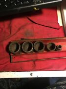 Early Vintage Snap On Sockets 1/2 Drive With Tray