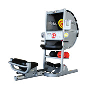 Ab Solo - Abdominal Exercise Machine Patented Ball Return Design Touch Targets