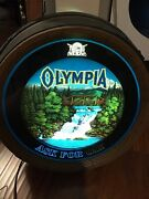 Olympia Ask For Oly Beer Sign Light Rare 1980s