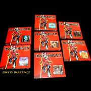 Iron Maiden_complete Set_banned Canadian Rcmp_sealed 7 Cds