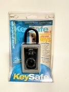 New Supra Keysafe 001005 Commercial Portable Key Safe Lock Box - Made In Usa