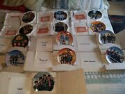 Beatles Collectorand039s Plates 13 Of The Original 14 As A Lot