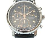 Aerowatch Le Grand Classic Moon Phase Limited Automatic Ss Menand039s Watch [b0217]