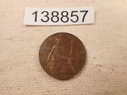 1920 Great Britain Farthing - Nice Post Ww I Collector Album Coin - 138857