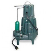 Zoeller 295-0003 High Head Sewage Pump With Mechanical Float Switch 2 Hp 230 V