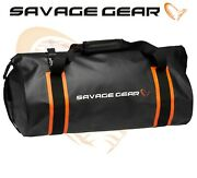 Savage Gear Waterproof Rollup Boat And Bank Bag 40l Pike Lure Bass Fishing Luggage