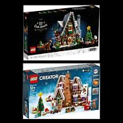 Lego 10267 Gingerbread House And Elf Clubhouse 10275 Christmas Bundle Bnib