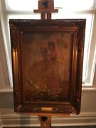 Beautiful Antique Picture Heavy