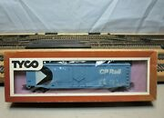 Tyco 339d300 Ho Scale 50and039 Plug Door Boxcar Canadian Pacific Rail