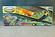 Aurora Famous Fighters Fokker D-7 Model 106-69 Early Version Excellent Cond.