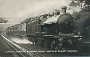 Liverpool Express Taking Water At Bushey Troughs London And North Western Railway