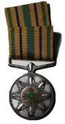 South African Police Star For Faithful Service Medal, Named 1115