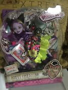 Ever After High Way Too Wonderland Kitty Cheshire Doll Brand New In Box Rare