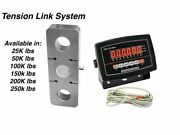 Heavy Duty Sl-927 Industrial Tension Link Scale Led Display 150000 Lbs X 50 Lb