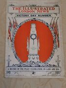 Antique The Illustrated London News Victory Day Number Newspaper Jul 26 - 1919