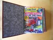 Tractor And Machinery Magazines Full Year 2013 Set In Quality Binder