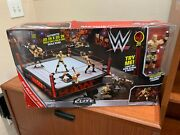 Wwe Elite Collection Raw Main Event Ring Playset Dxg60 With Goldberg New In Box