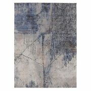 7and03910x10and0392 Softcolors Abstract Design Wool And Silk Hand Knotted Rug G58025