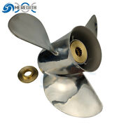 Stainless Steel-outboard-propeller 13-1/4x17 For Johnson 40-140hp 763951 13t