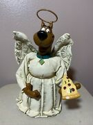 Vintage Warner Brothers Store Exclusive Scooby Doo Angel Christmas Tree Topper