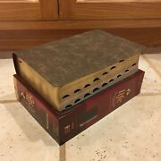 Niv Large Print Life Application Study Bible Indexed Brown Leather 3rd Edition
