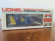 Lionel Freight Carrier Santa Fe Bay Window Caboose