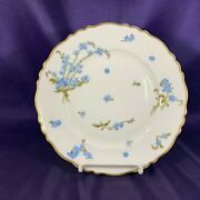 Haviland Montmery Forget Me Not Salad Plate 7 1/2