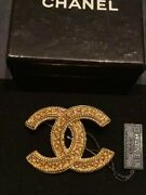Very Rare Brooch Cc Vintage For Woman Nearly Unused Nice
