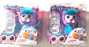 2 Wrapples Shora Slap Band Little Live Electronic Pets Purple And Blue