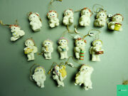 Dreamsicles Cast Art Lot Of 15 Collectible Figurine Cherubs 1994-1995