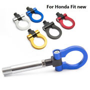 Car Racing Auto Trailer Tow Hook Ring Eye Front Rear Aluminum For Honda Fit New