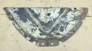 1938 Chevy Car Upper Grille Baffle Original Gm Cover On Top Of Shroud