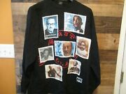 Black Heritage License Postage Stamp Official Long Sleeve T-shirt Size 2xl