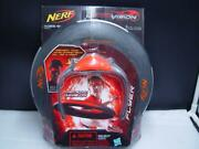 Nerf Firevision Sports Flyer Disc Day Or Night New