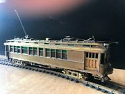 Suydam Ho Gauge Brass Model Of Pacific Electric Combo Car 1360, Powered