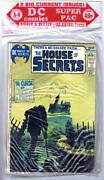 Dc Big Super Pac A-4 2-pack House Of Secrets 97 And The Witching Hour 20 Rare