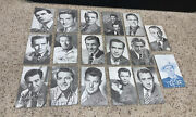 Autographed Actor Picture Press Photo Card Sutton Hayward Tracy Murphy Harrison