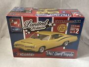 Amt Limited Edition 1967 Chevy Impala 1/25 31912 Factory Sealed. Skill 2