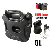 5 Litre Fuel Tank Cans Tanks Atv Jerrycan Mount Motorcycle Gas Can Container