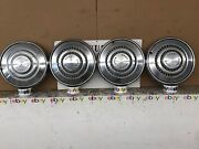 """1973-1976 Ford Galaxie Torino Country Squire Ltd 15"""" Hubcap Wheel Cover Set Oem"""